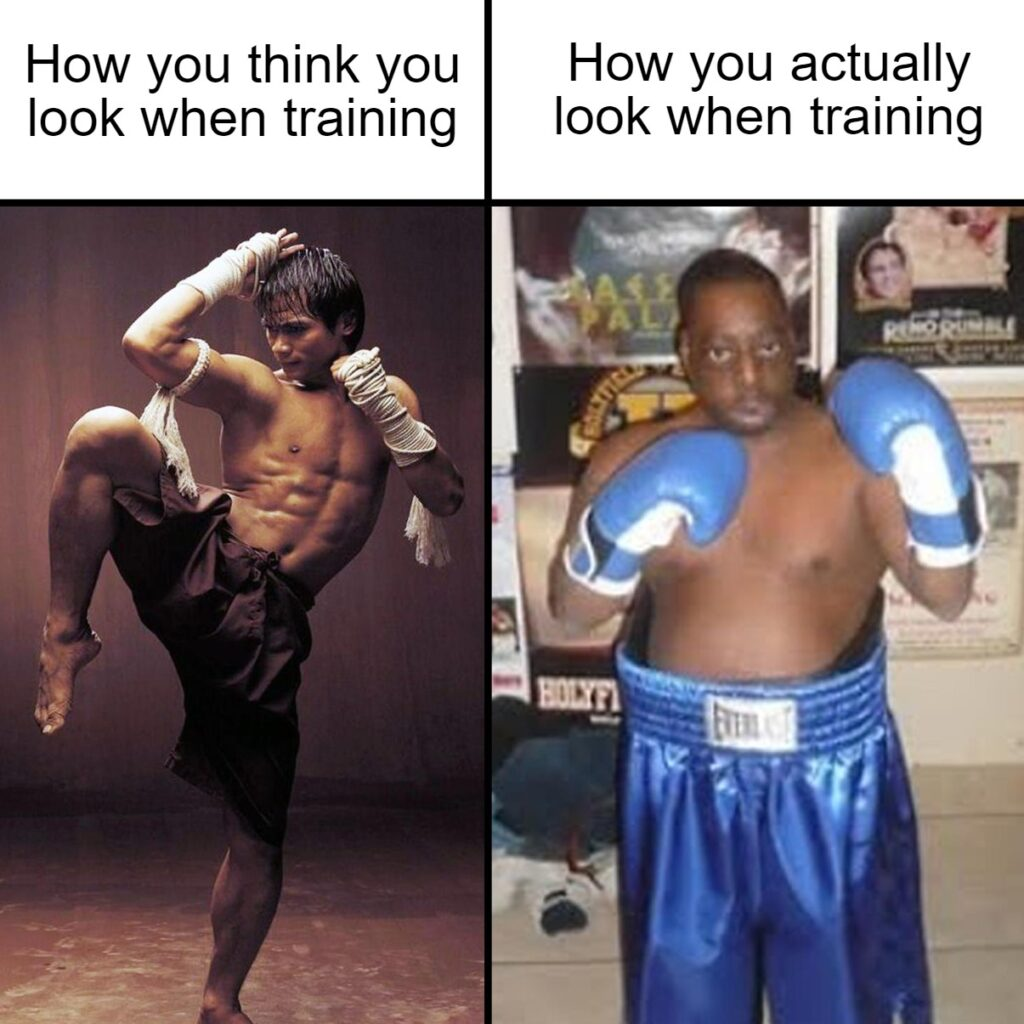 How you think you look when training multiple martial arts at PSB Fitness