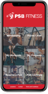 PSB Fitness App
