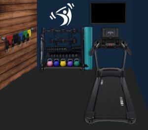 PSB Pod Workout Area