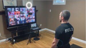 gym instructor in virtual Muay-Thai classes Brampton