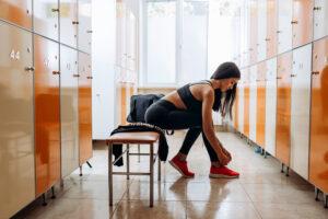 Locker Rooms at PSB Fitness